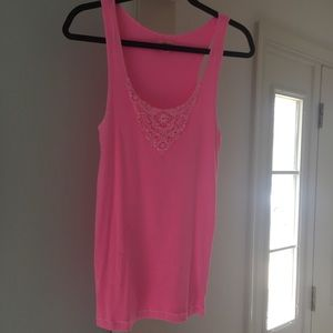 Aerie hot pink tank
